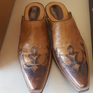 Ariat slip on mules